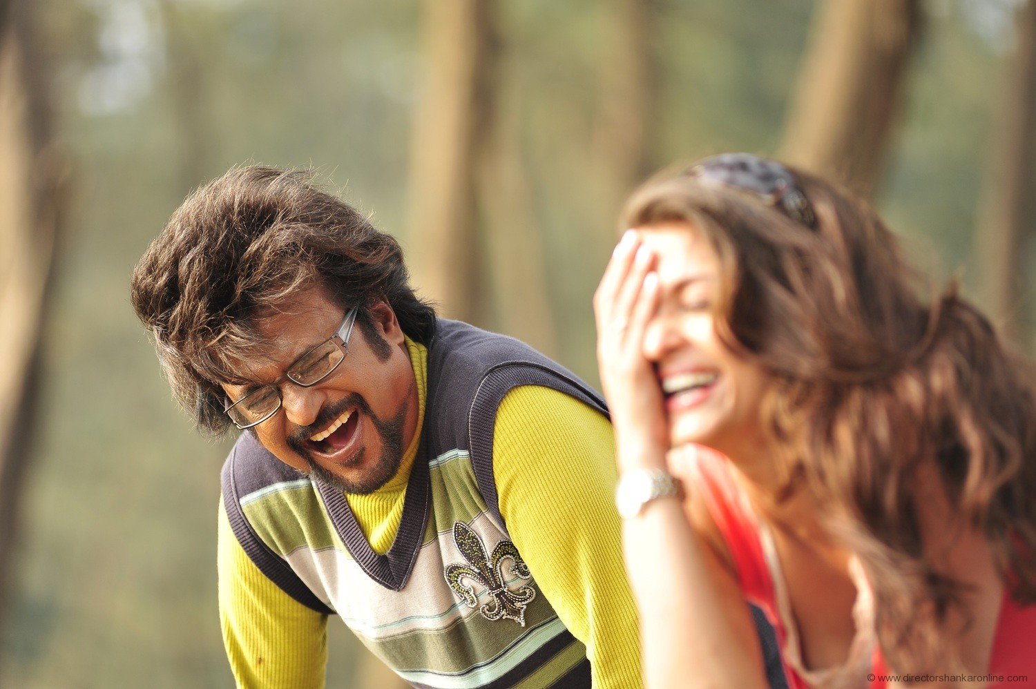 Enthiran Latest Stills