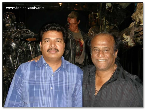 Enthiran Animatronics technology - Shankar