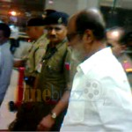 Rajini Back to Chennai after 6 weeks singapore treatment